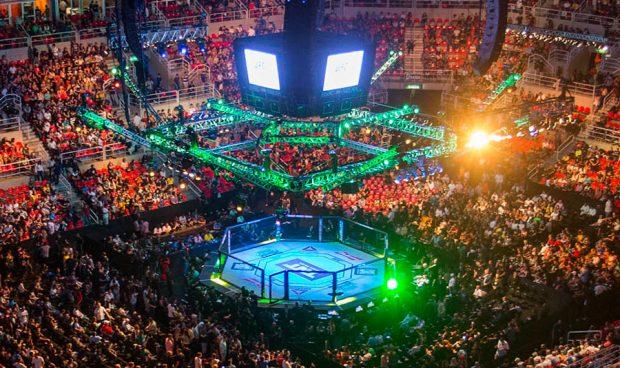 UFC volta ao Brasil em outubro (Foto: Daniel Ramalho/Inovafoto/UFC)