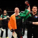 Duffy renovou com o UFC (Foto: Reprodução/Facebook/UFC)
