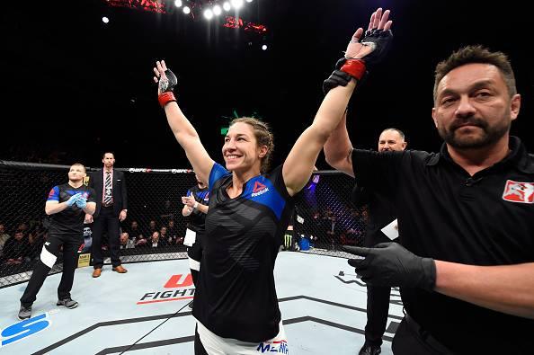 McMann (foto) enfrenta Ketlen Vieira (Foto: Reprodução Facebook UFC)