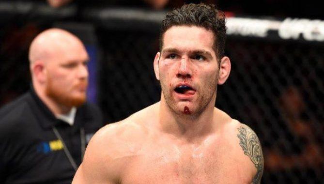 Weidman é azarão contra Gastelum (Foto: Reprodução/Facebook UFC)