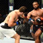 Demian não conseguiu vencer Woodley (Foto: Reprodução/Twitter UFC Europe)