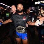 T. Woodley é o campeão meio-médio do UFC (Foto: Reprodução Facebook UFC)