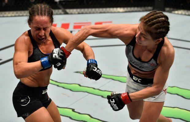 Kowalkiewicz (dir.) venceu no UFC Polônia e mira em luta contra Bate-Estaca. Foto: Reprodução / Facebook / UFC