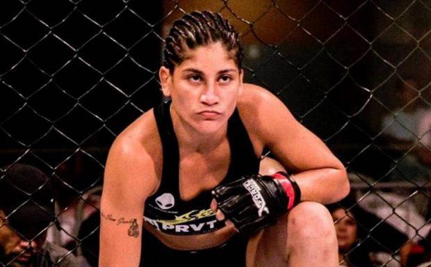 Priscila estreará no UFC dia 1º de dezembro (Foto: Facebook PriscilaCachoeira)