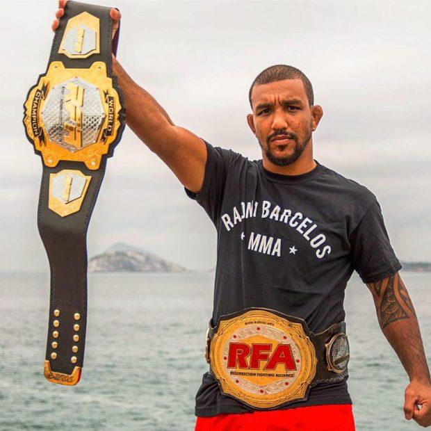 R. Barcelos terá que esperar para fazer sua estreia no UFC (Foto: Reprodução Facebook Raoni Barcelos)
