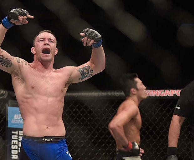 C. Covington (foto) enfrenta Demian no UFC São Paulo (Foto: Reprodução Twitter Colby Covington)