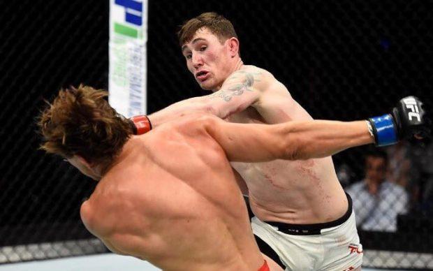 Till (dir) ameaça Cerrone (Foto: Reprodução Instagram UFC)