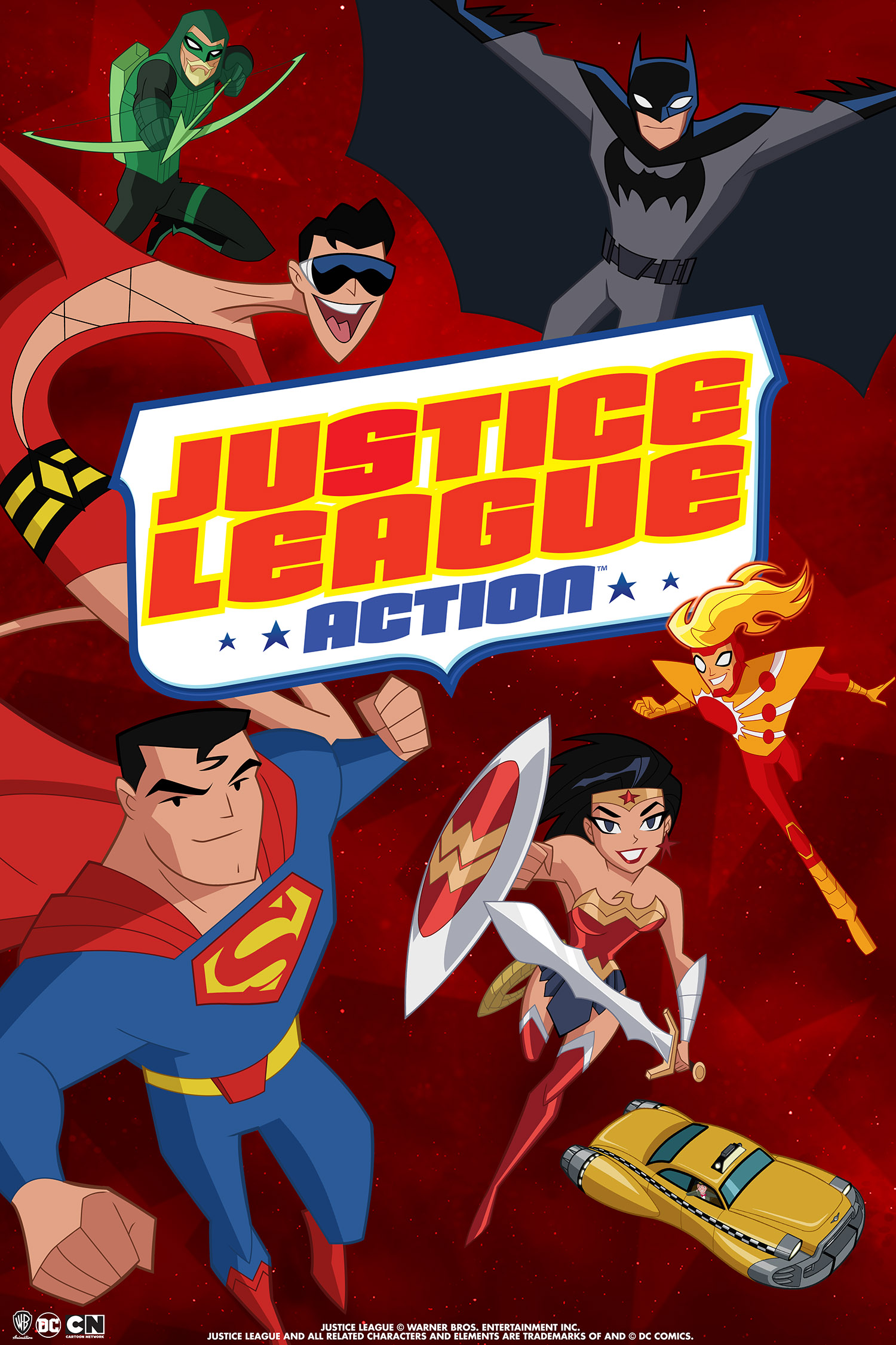The Always Rotating Team Of Justice League Heroes Are Up To Any Challenge Produced By Warner Bros Animation And Based On Characters From DC