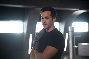 "Supergirl -- ""Survivors"" -- Image SPG204a_0105 -- Pictured: Chris Wood as Mike/Mon-El - Photo: Diyah Pera/The CW -- © 2016 The CW Network, LLC. All Rights Reserved"