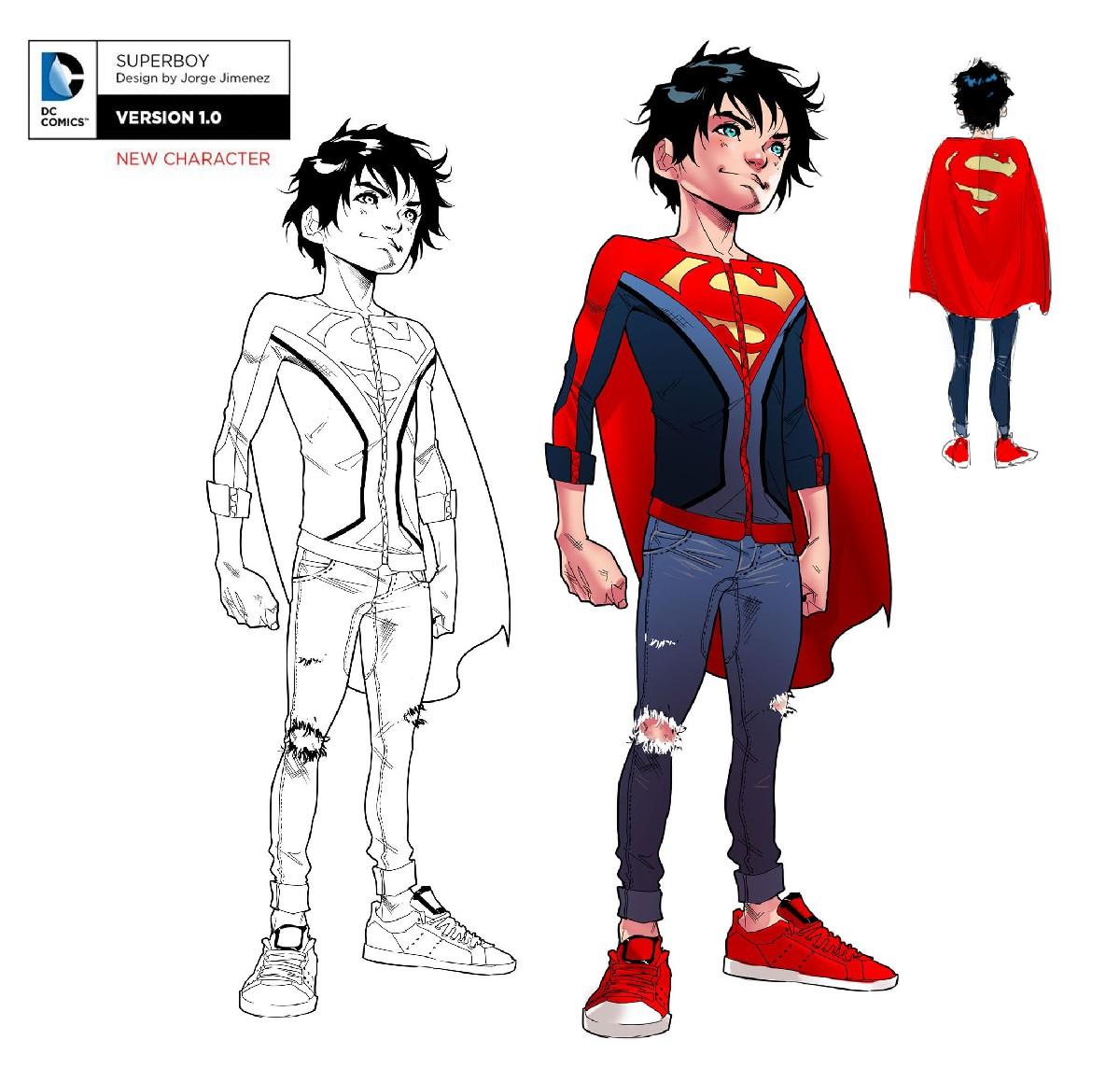 October 12 2016 Jorge Jimenez On Designing Superboy S