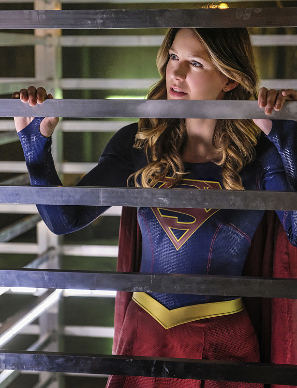 "Supergirl -- ""The Darkest Places"" -- Image SPG207a_0113 -- Pictured: Melissa Benoist as Kara/Supergirl -- Photo: Robert Falconer/The CW -- © 2016 The CW Network, LLC. All Rights Reserved"