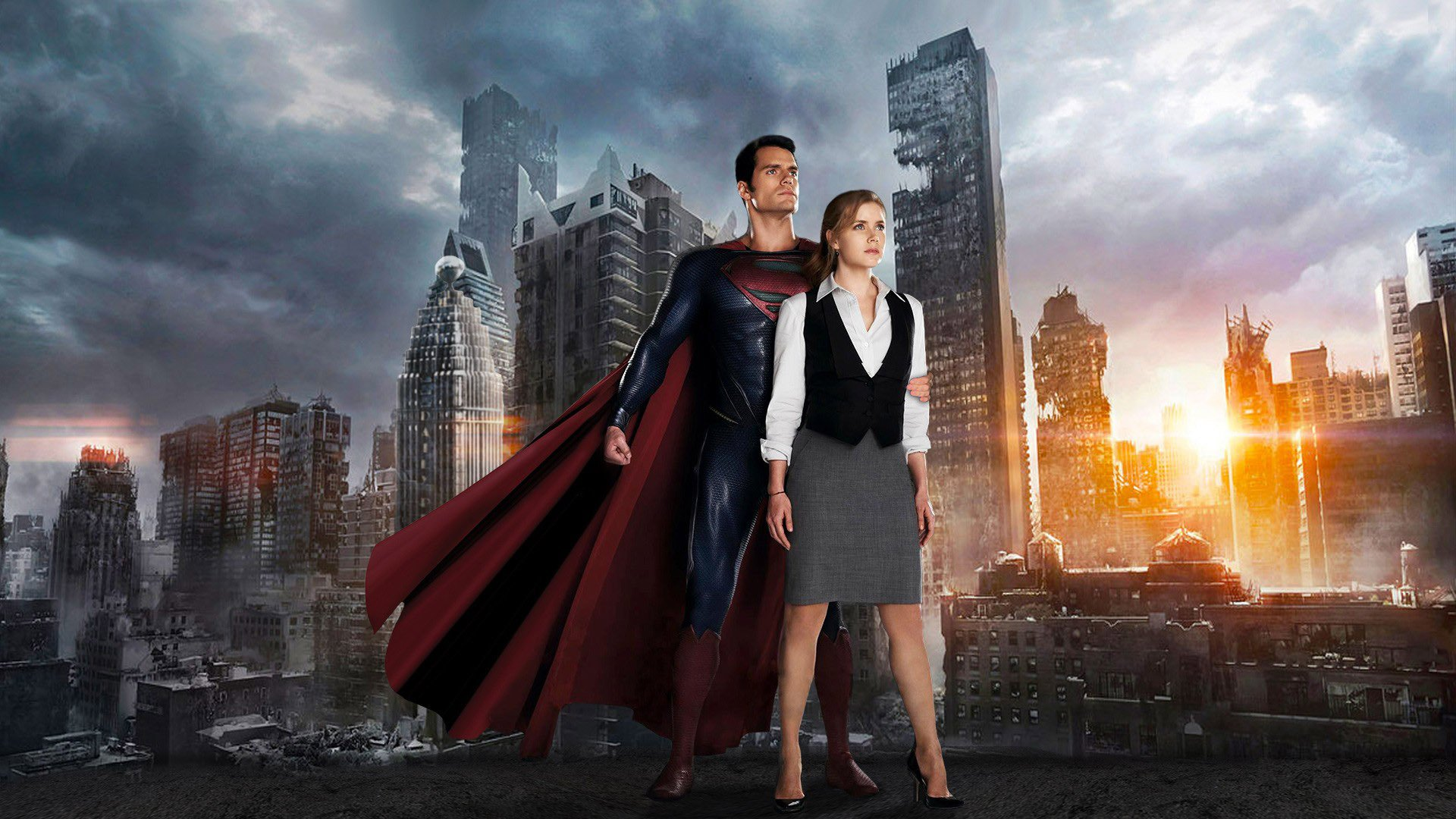 superman-henry-cavill-lois-lane-amy-adams-man-of-steel