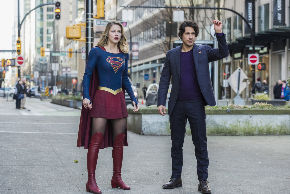 "Photo Gallery for ""Supergirl"" S02E13 ""Mr. & Mrs. Mxyzptlk ..."