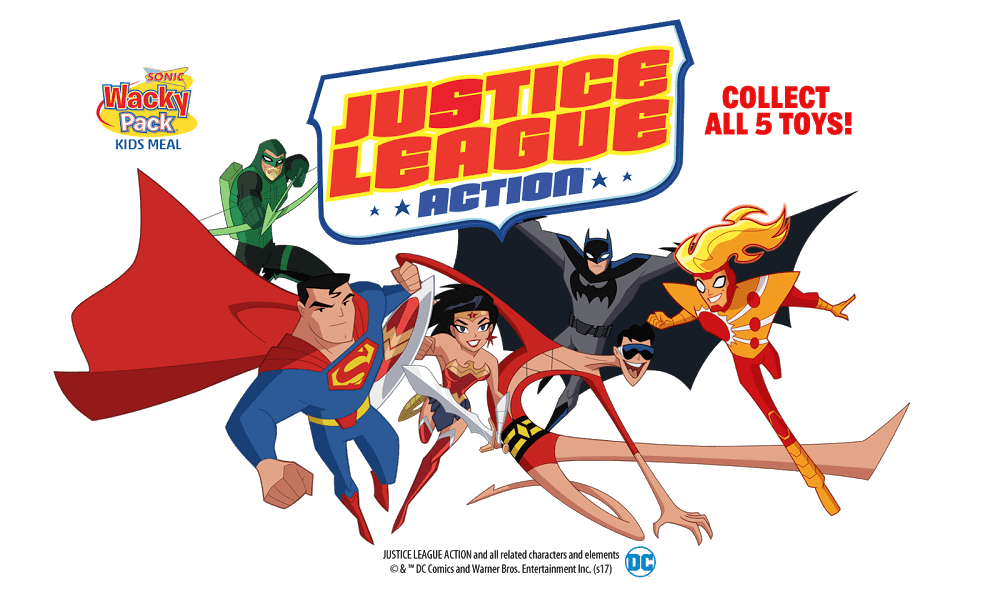 "Best Justice League Toys And Action Figures For Kids : Sonic drive in ""justice league action toys superman"