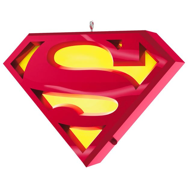 Superman A Symbol Of Hope Musical Ornament With Light Superman