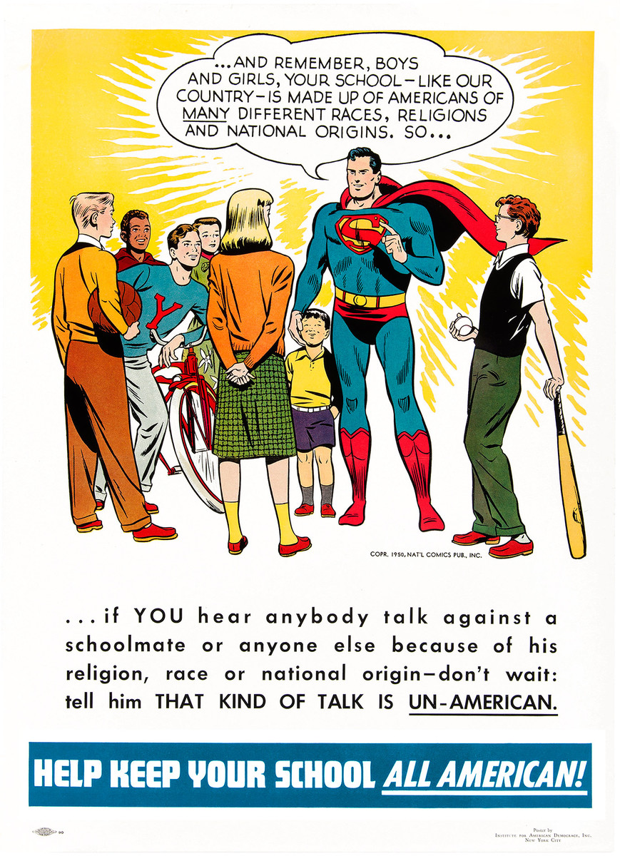 Image result for superman 1959 diversity poster sold where