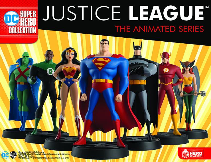 JUSTICE LEAGUE THE ANIMATED SERIES FIGURINE COLLECTION DC Comics Eaglemoss