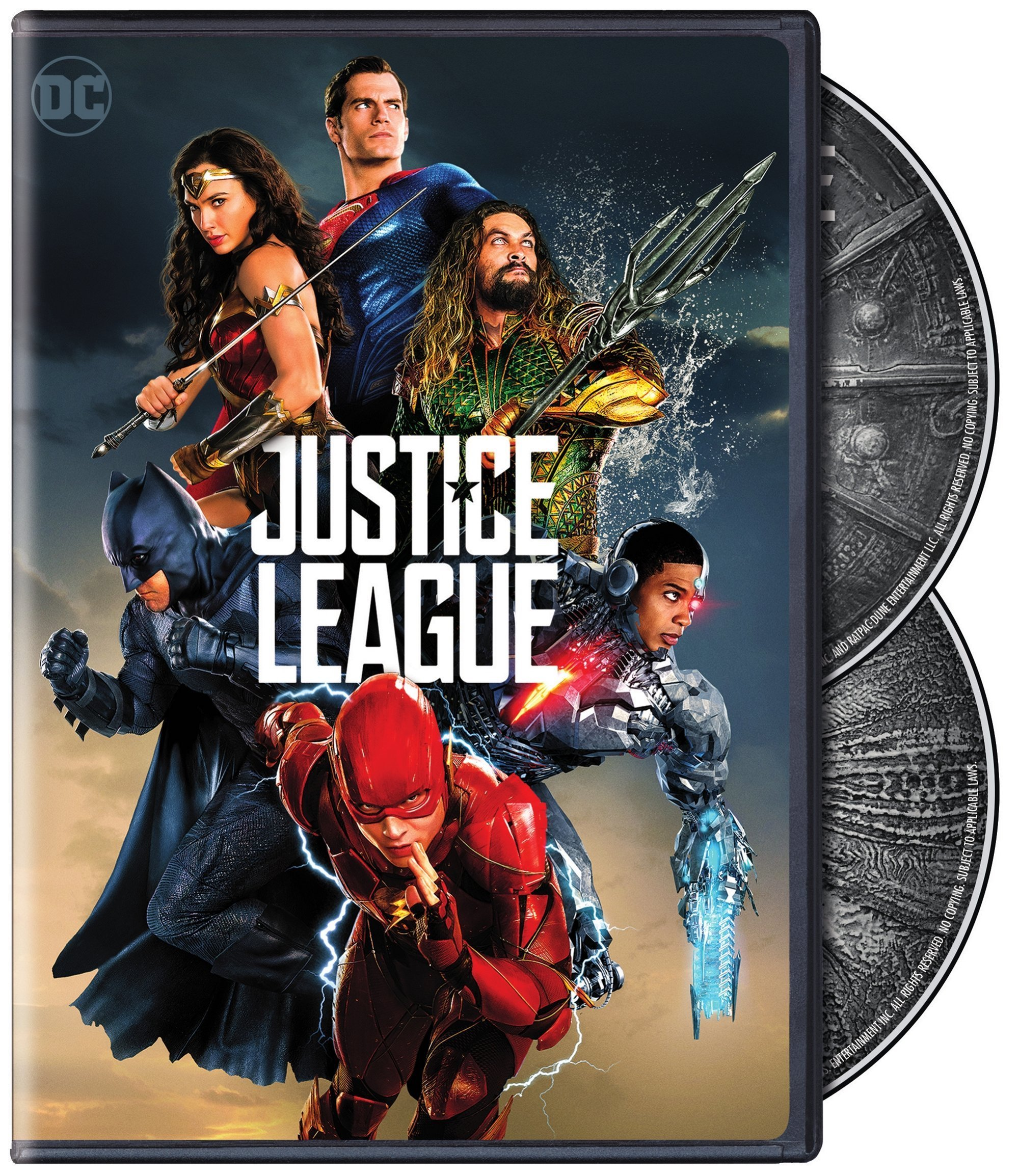 justice league dvd covers revealed superman homepage