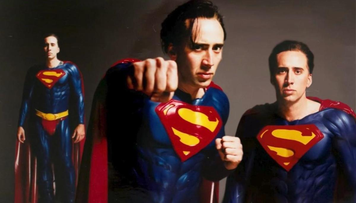 nicolas cage talks superman henry cavill and possible