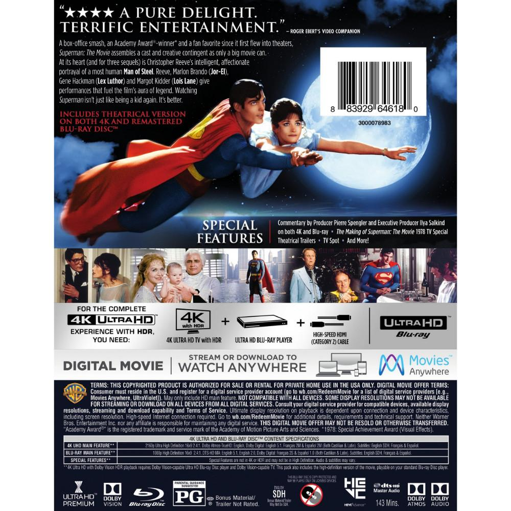 "Superman: The Movie"" 40th Anniversary 4K Blu-ray Release – Superman"