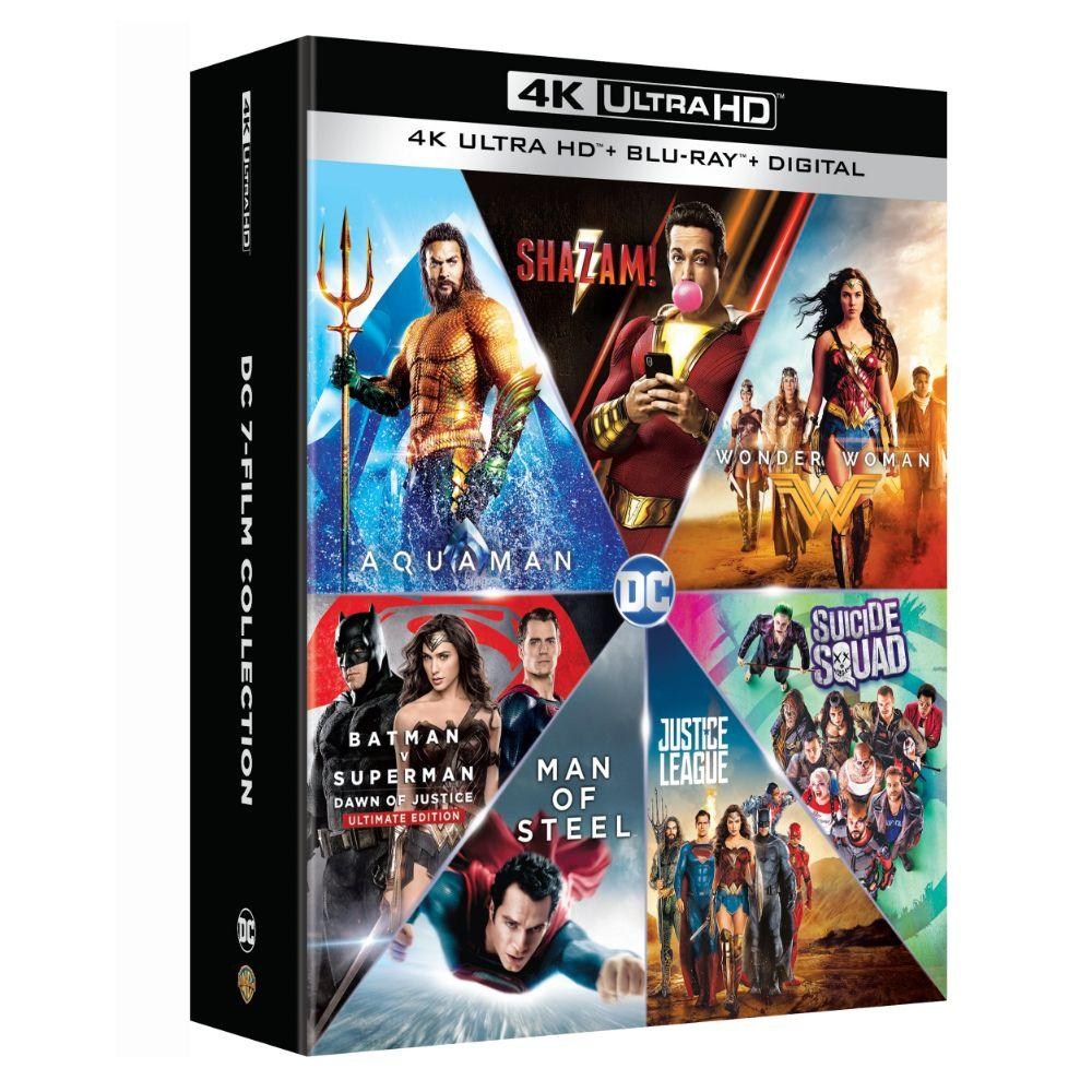 Warner Bros Announce Dc 7 Film Collection On Blu Ray