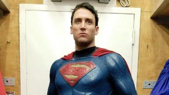 Second Shazam Stunt Double Actor Picture Emerges – Superman