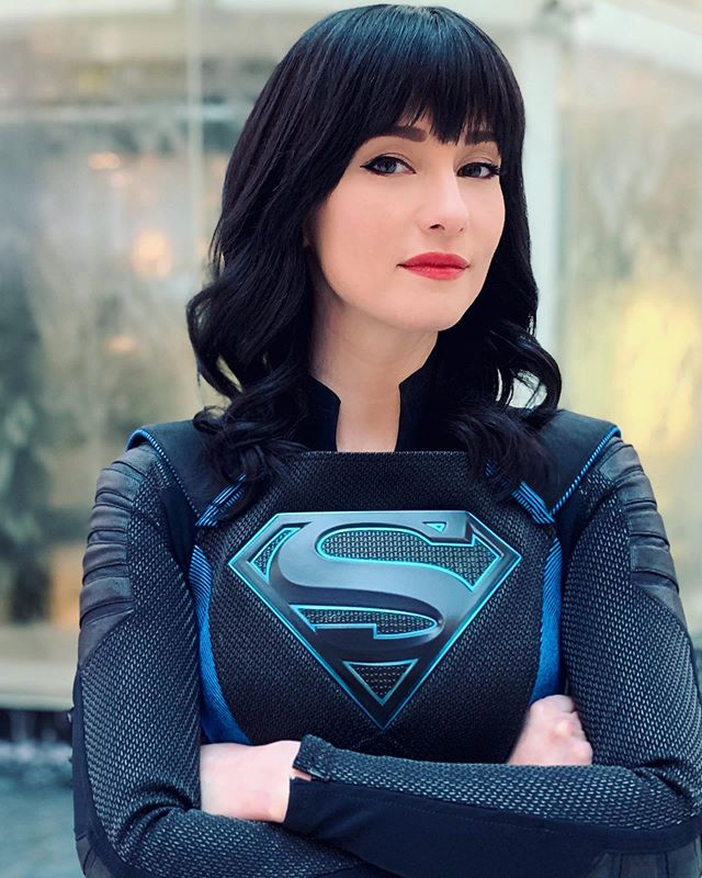 New Look For Chyler Leigh S Supergirl Character Super Alex Danvers Superman Homepage