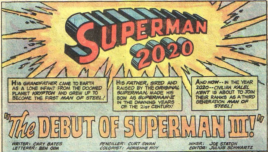 Superman 2020