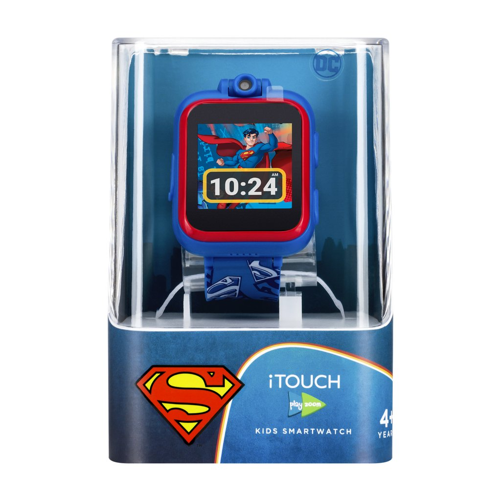 Superman iTOUCH PlayZoom Smart Watch