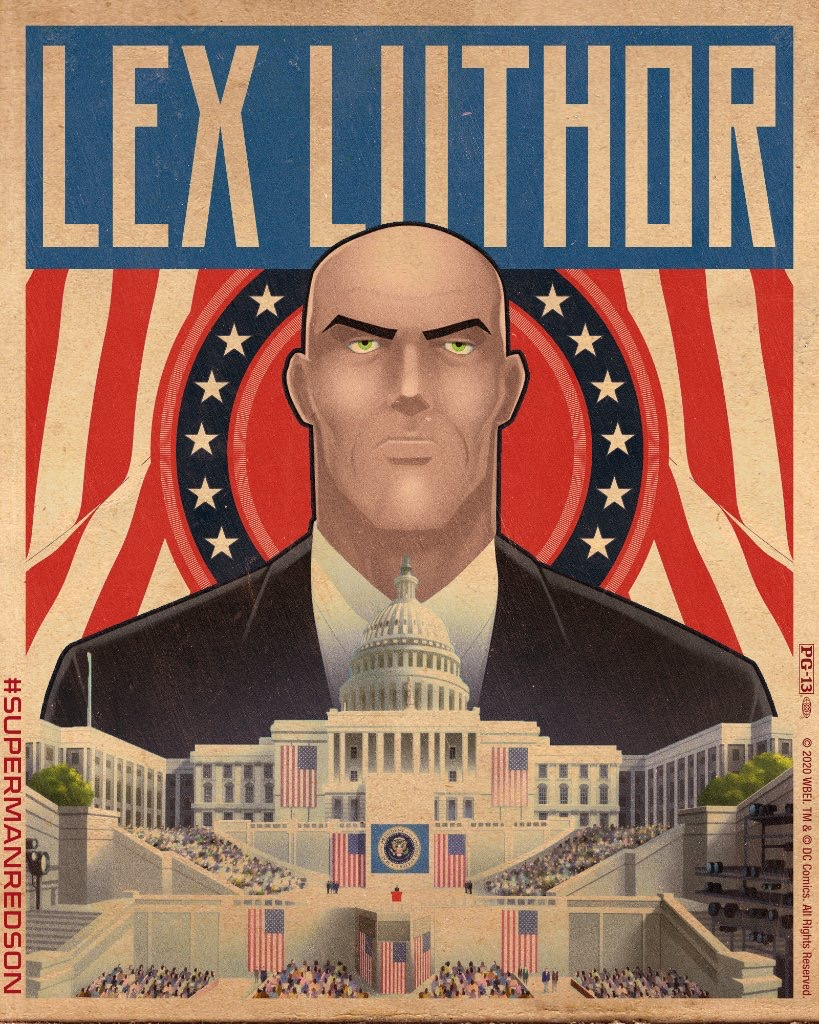 Superman Red Son Animated Movie Character Posters Superman Homepage