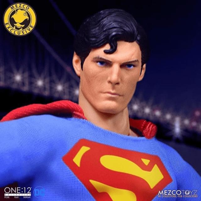 Pre Order Mezco S One 12 Collective Superman 1978 Edition Superman Homepage