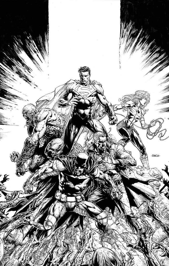 DCeased: Dead Planet #1 Second Printing