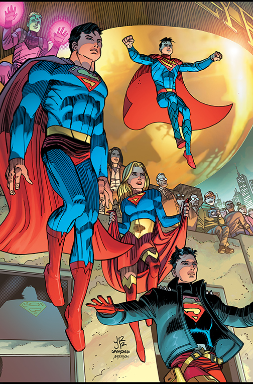 December Sees The End Of Brian Michael Bendis Run On Superman Superman Homepage