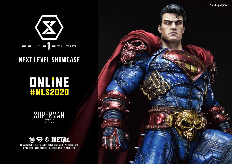Dark Nights: Metal Superman Statue