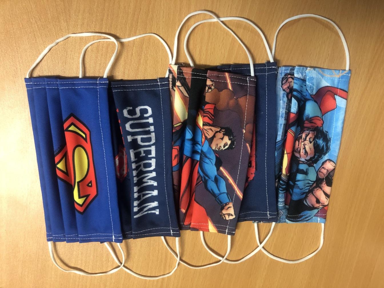 Superman Face Masks from MaskClub.com
