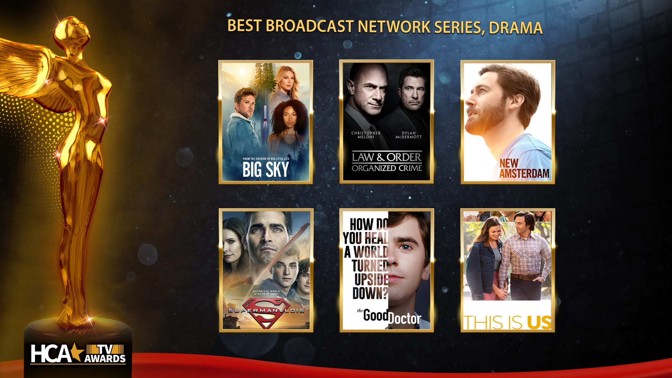 Hollywood Critics Association TV Award