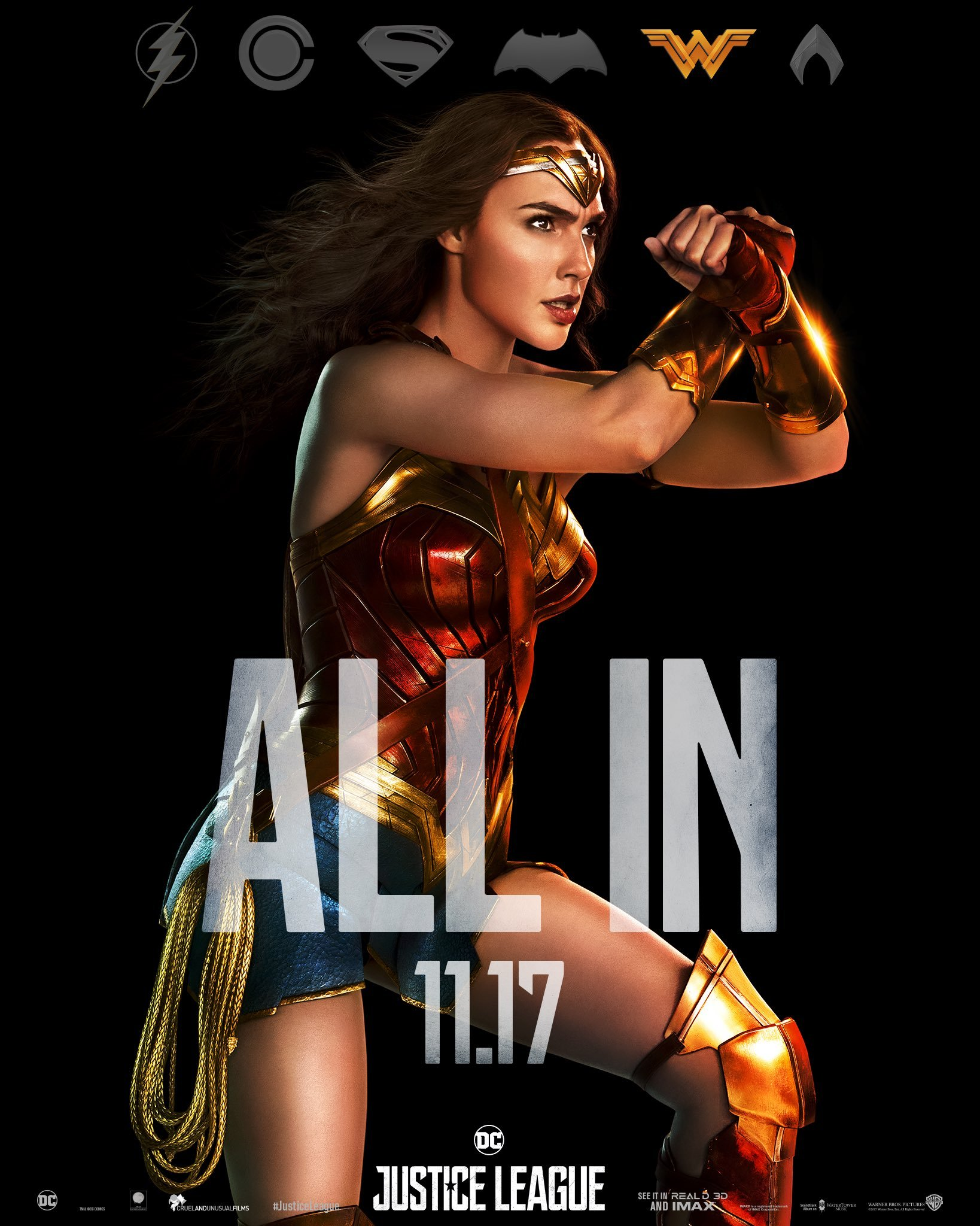 Wonder-Woman-Justice-League-Poster