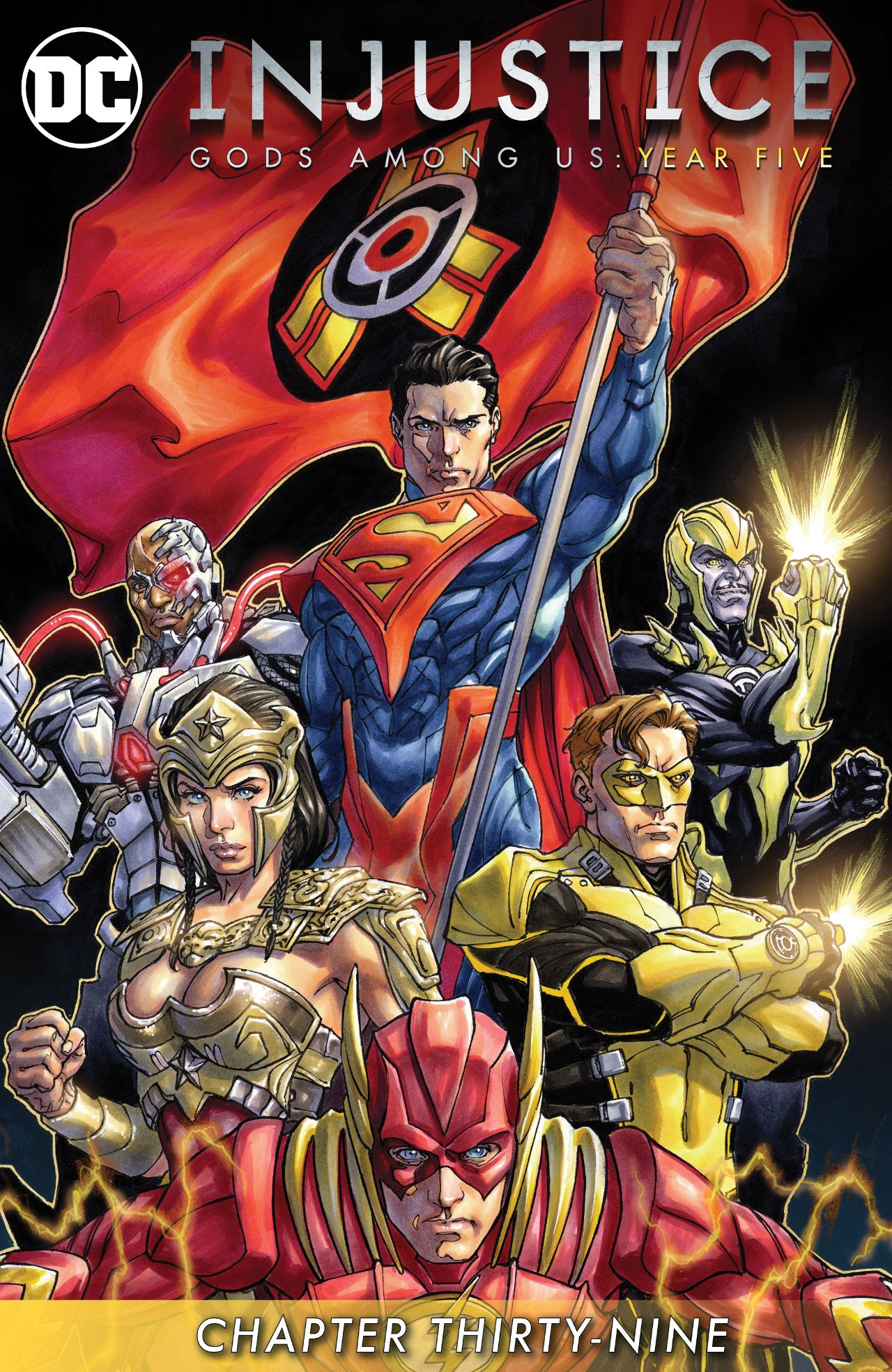 Mild Mannered Reviews Injustice Year Five Chapter 39