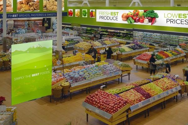 Supermarket Signage Fresh