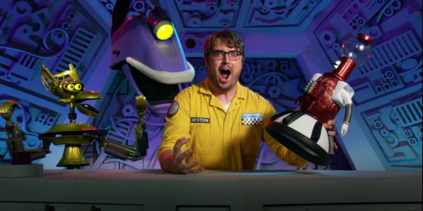 """MST3KEp8Singing - Mystery Science Theater 3000 The Return (S01E08) """"The Loves of Hercules"""""""