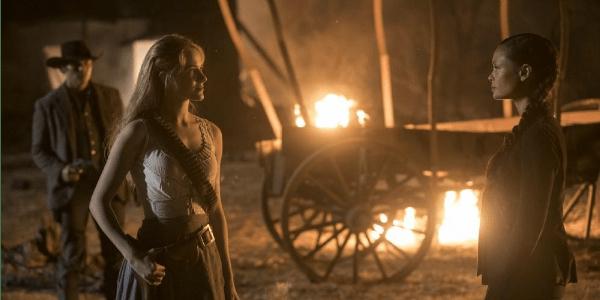 """WestworldS02E02MaeveandDolores - Westworld (S02E02) """"Reunion"""""""