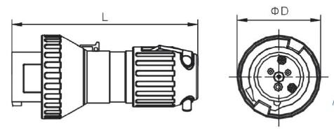 Ex-proof Plug (Zone 1) PE