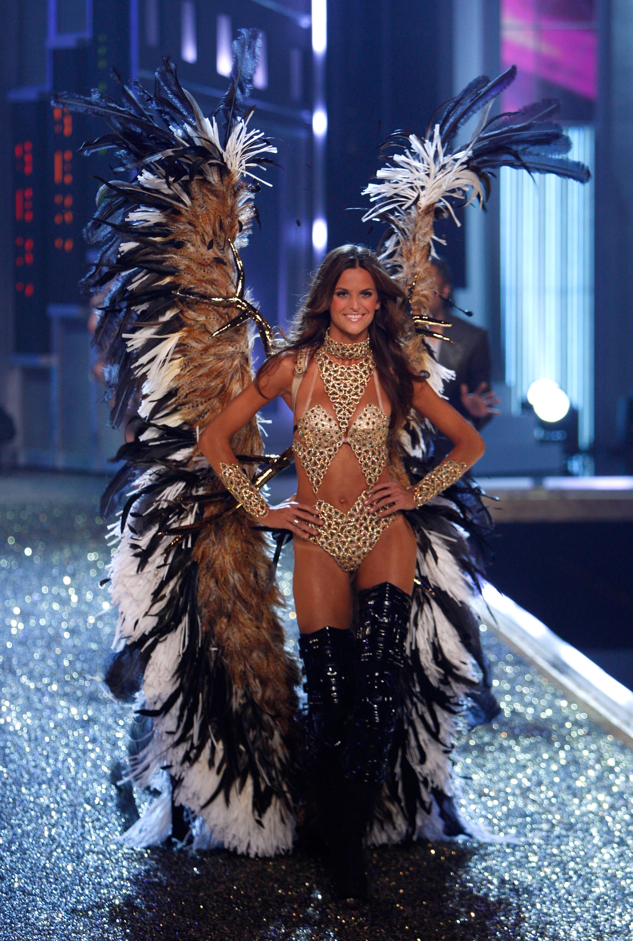 3695e06c7e HOLLYWOOD – NOVEMBER 15  Model Izabel Goulart at the 12th Annual Victorias  Secret Fashion Show at The Kodak Theatre on November 15