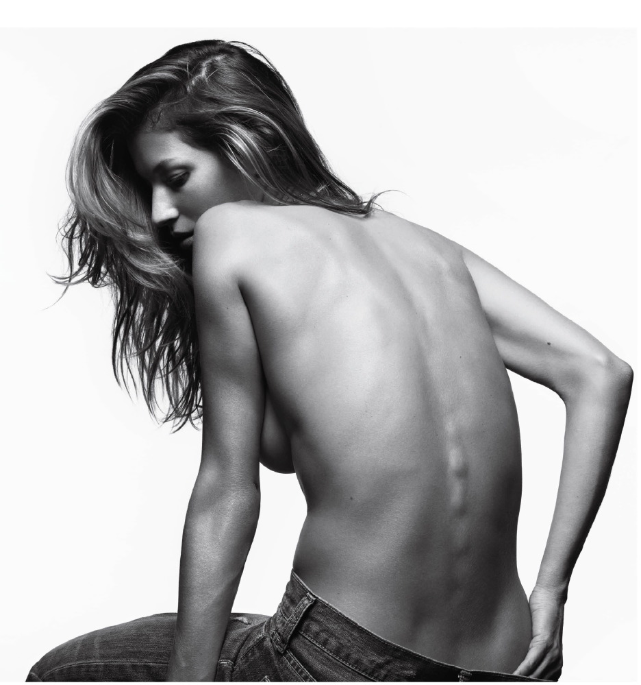 Gisele Bündchen – Hedi Slimane Photoshoot for V,  2011