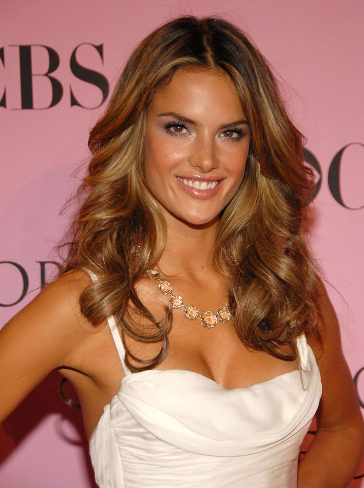 Alessandra Ambrosio – Pink Carpet – Victoria's Secret Fashion Show 2006 [x 52]