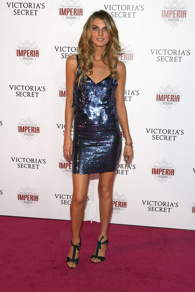 Angela Lindvall – After Party – Victoria's Secret Fashion Show 2007 [x 1]
