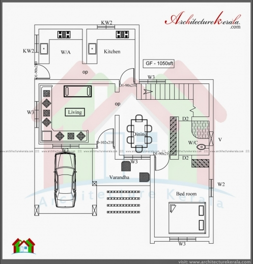 amazing house plans kerala 3 bedrooms arts bedroom in