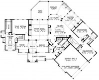 Luxury Chalet House Plan - House Floor Plans