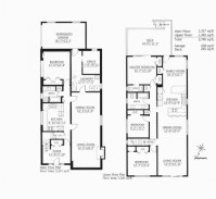 Floor Plan With Dimensions Residential Floor Plans With ...