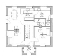 Plan House Ground Floor - House Floor Plans